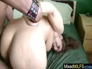 horny whore milf obtain difficult brown dick vid24