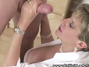 european giant tits mature angel blowjob