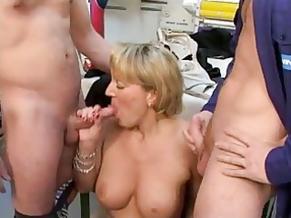 french cougar is extremely impressive for cock !
