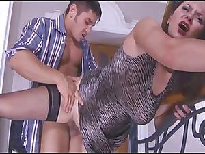 stepmom caught while he masturbate