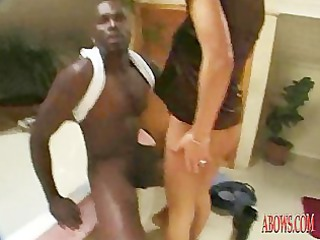 milf with hairy pussy have anal porn with brown