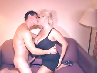 busty grownup blond cheating her lover