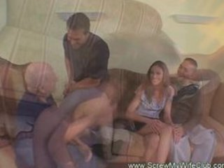 awesome sweetheart wife on surprising fuck