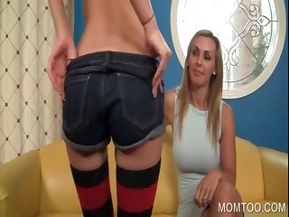 milf and daughter exposing vaginas