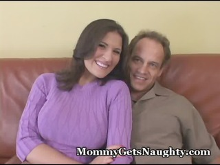horny mommy trades inside loser hubby