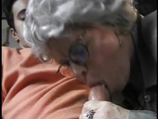 old banging her grandson