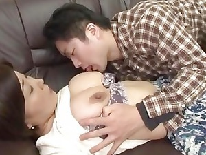 drunk japanese mother acquires abuse by her guy