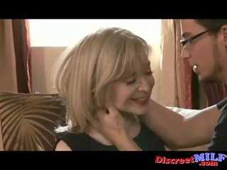 slutty cougar milf with fresh nerd