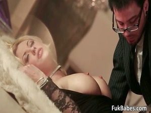 busty horny giant boobed bleached wonderful