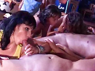 woman sisters daughters gang bang at a fuck