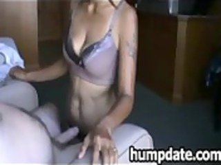asian lady sucks libido and obtains jizzed into