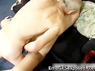 old papy gangbanging young tattooed lady part4