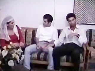 arabian muslim mature babe gangbanged into bunch
