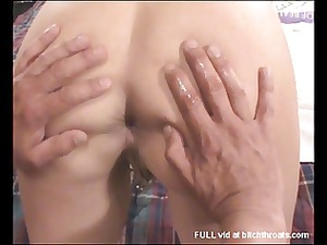 young mature babe suffers anal torment