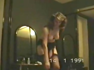 older  housewife homemade strip movei