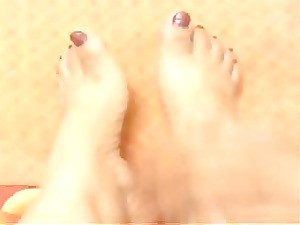 foot my hot arabic wife