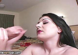 sexy mature babe jerking dick 4