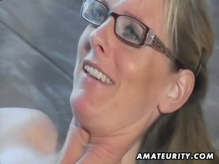extremely impressive inexperienced milf licks and