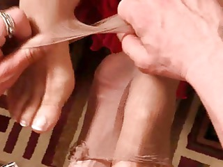 older  footjob film 1