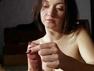mature babe maiden gives hot handjobs