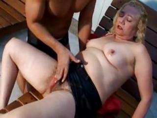 lusty pale older  gives fantastic cock sucking