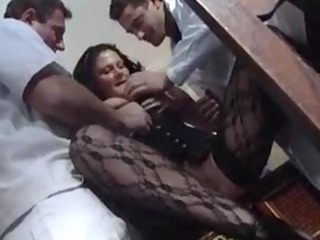 pleasure karins  german mature babe nurse fucked