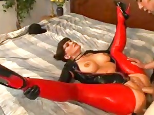 milf inside latex joy
