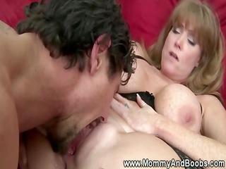 giant boobed lady inside pantyhose obtains banged