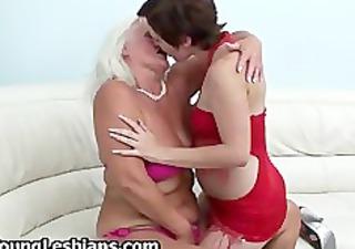 brunette angel having lesbian porn part4