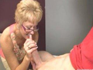 super wife tracy fellatios her godson
