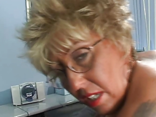 pierced tits tattoo elderly inside pantyhose