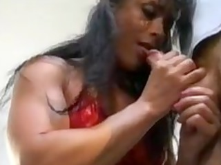 bodybuilding grownup woman anal