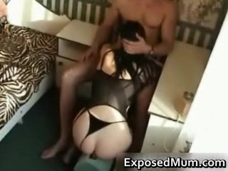 mommy gives incredible cock sucking for kicks