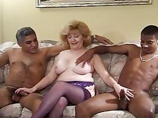 cougar mature babe fucking black penises
