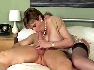 desperate older  loveliness adores giving a