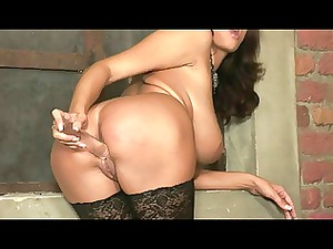 sensual josephina with her sex toy