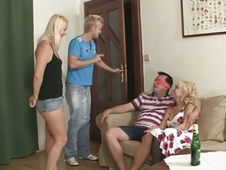 woman seduces his gf in three people