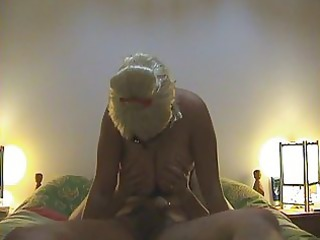 masked wife lick and pierce