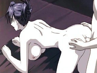 anime woman prettie acquires a libido inside her