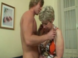 bleached mature banged hard by fresh boy