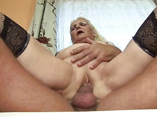 heavy blond old (german)
