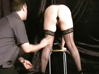 buttplugged grownup maiden slaves humiliation
