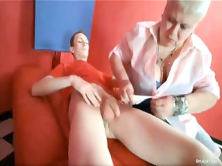 giant breasted obese fat busty blonde woman part5