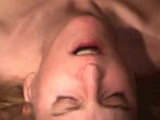 albino maiden acquires her oral fucked and cummed
