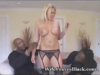 busty, albino milf in extremely impressive triple