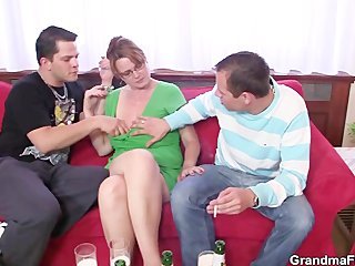 two boys like piercing extremely impressive milf