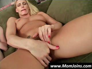 mother and daughter masturbate together and after