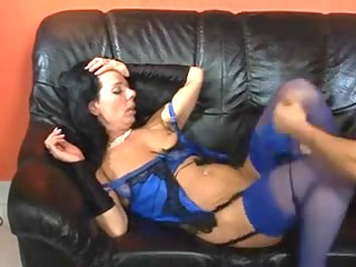 cougar pretty copulates and licks later swallows