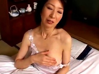 mature babe dildoing with sex toy having orgasm