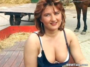 chubby milf teasing in extremely impressive